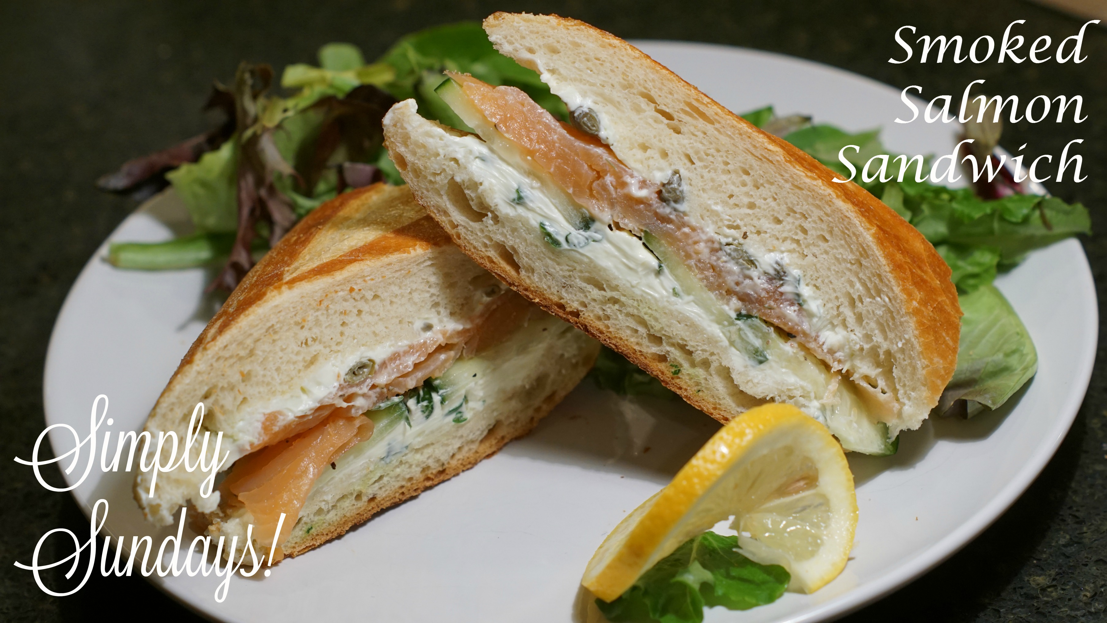 Smoked Salmon Sandwiches Simply Sundays
