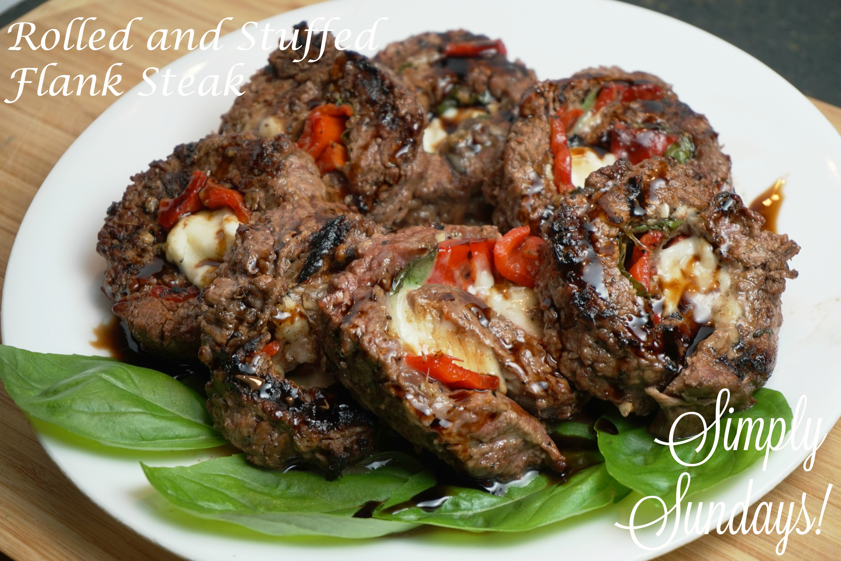 Rolled and Stuffed Flank Steak – Simply Sundays!